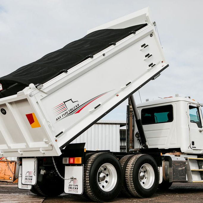 Any Type Trucks Tipper